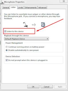 Cara Menjadikan Headset Biasa Sebagai MIC Untuk Komputer
