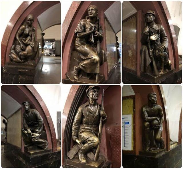 Ploshchad Revolyutsii (Moscow Metro)