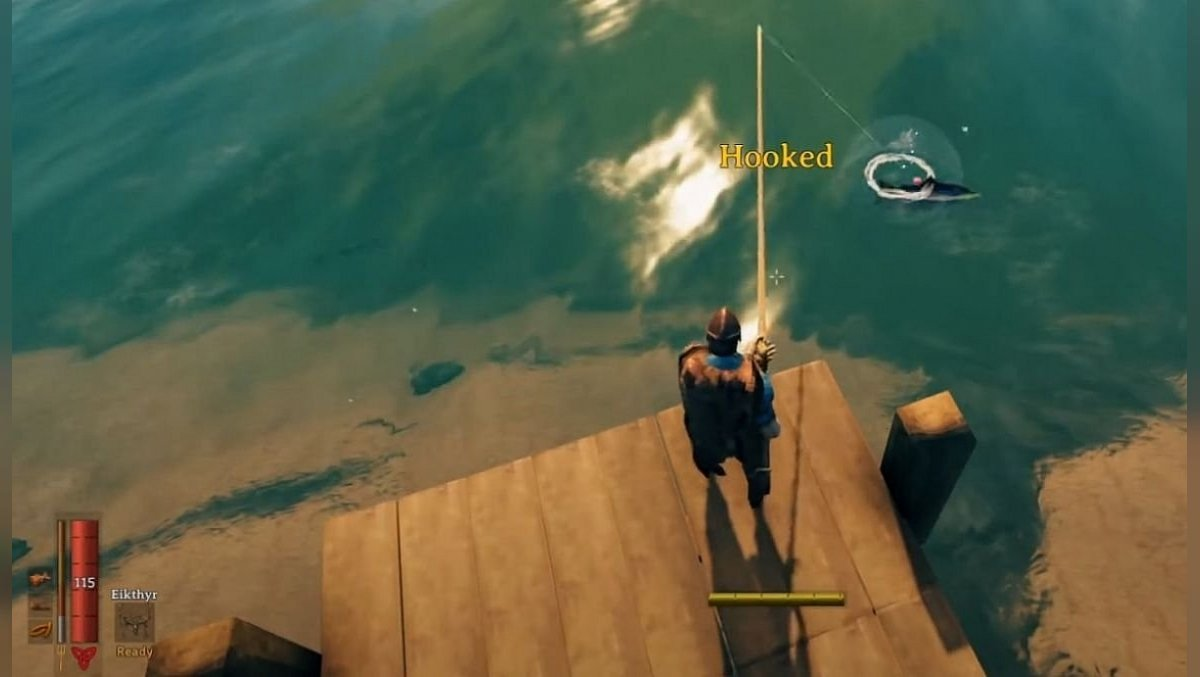 where to find a fishing rod and how to catch fish