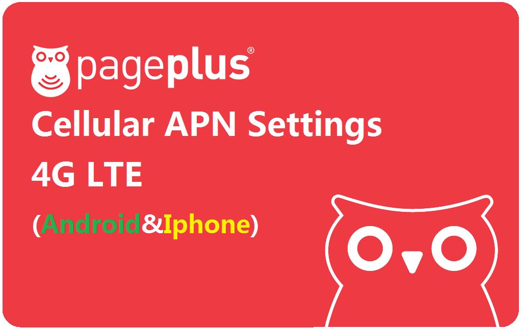 Page Plus Cellular APN Settings