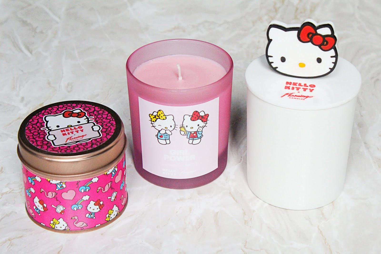 Flamingo Candles x Hello Kitty
