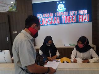 Diduga Markup Dana Desa, Kades Pulau Sengkilo di Laporkan ke Kejati Riau
