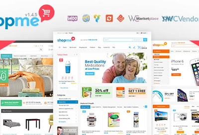 ShopMe V.1.5.3- Multi Vendor Woocommerce WordPress Theme