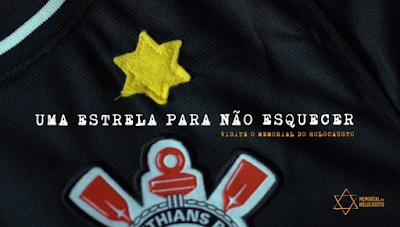 Corinthians vai homenagear vítimas do nazismo com estrela de Davi na camisa