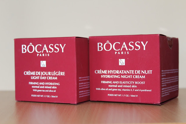 Bocassy Paris lagana dnevna krema i hidratantna noćna krema