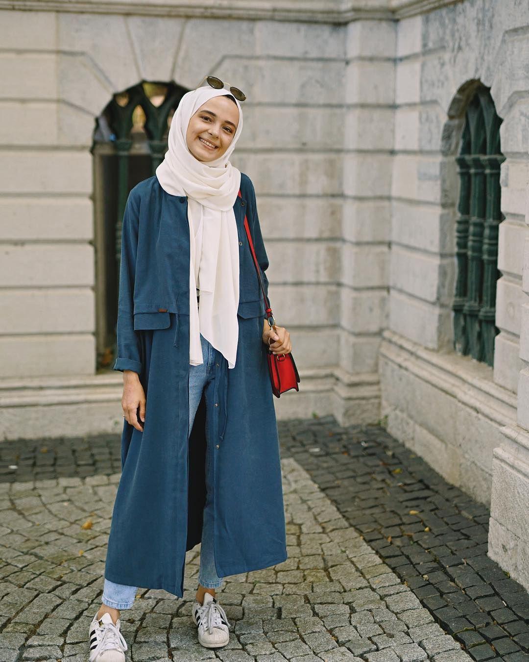 trend hijab Remaja casual muslimah
