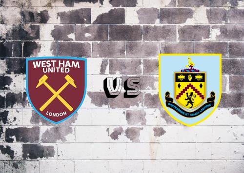West Ham United vs Burnley  Resumen