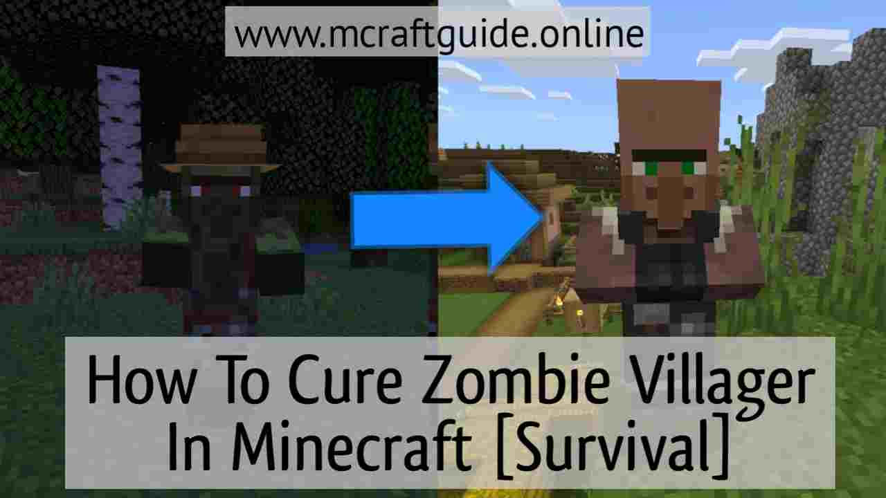 How To Cure Zombie Villagers In Minecraft [Survival] - MCraftGuide