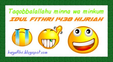 Idul fithri 1438 hijriah - taqobbalallahu minna wa minkum dari karyafikri.blogspot.com
