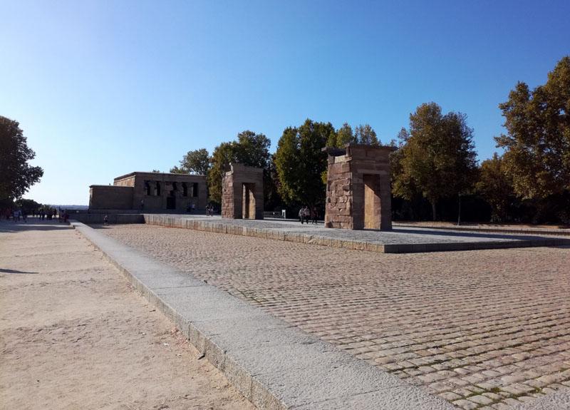 Foto: Il Tempio di Debod a Madrid