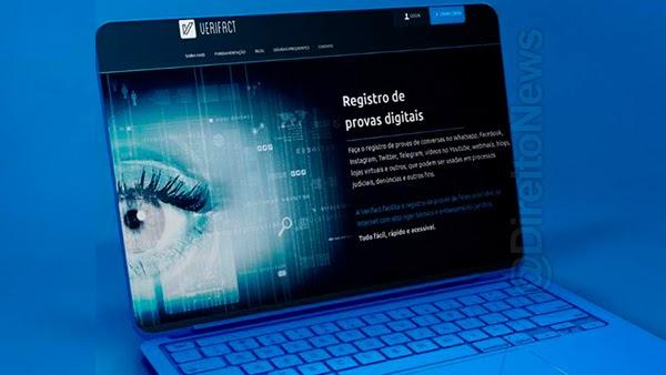 verifact registro provas digitais alcance maos