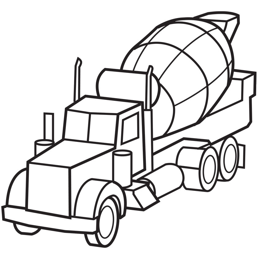 Police And Fire  Truck Coloring Pages Cars 4 Image