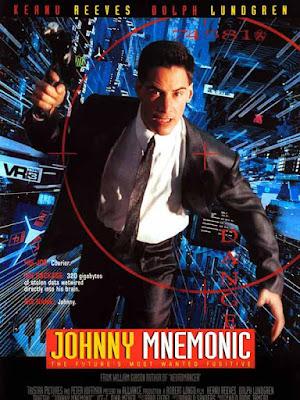 Póster película Johnny Mnemonic