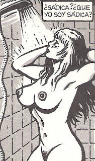 sadismo en la ducha