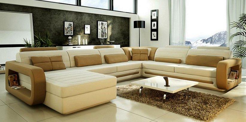 sofa ruang tamu bentuk l 3