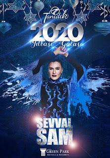 The Green Park Hotels Ankara Yılbaşı Programı 2020 Menüsü Şevval Sam Yılbaşı Konseri Programı