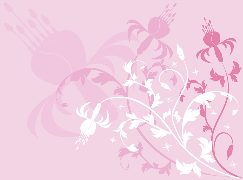 Floral Backgrounds Pink