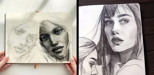 00-Ink-Pencil-Portraits-Anna-www-designstack-co
