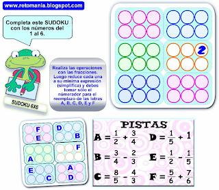 Sudoku, Sudoku 6x6, Sudoku para principiantes, Sudoku con Pistas