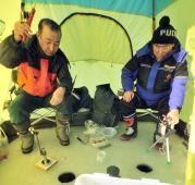 ホロカヤントー・ワカサギ釣り