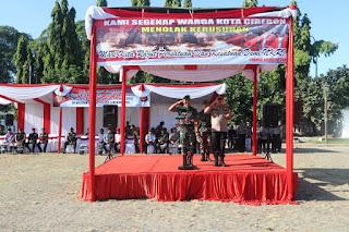Polres Cirebon Kota Apel Pasukan Kemanan Jelang Sidang MK