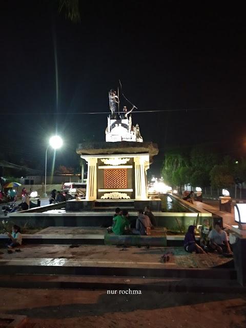 patung arjuna wiwaha