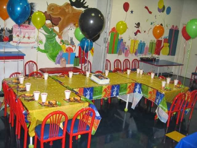 children birthday party decorating ideas