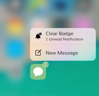 A new 3D Touch cydia tweak called QuickClear is now available in Cydia via BigBoss repo which adds a shortcut item and allows you to clear the unwanted notification badges