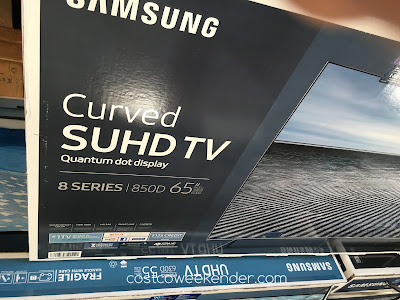 Costco 1033017 - Samsung UN65KS850D features unique curved display for a new viewing experience