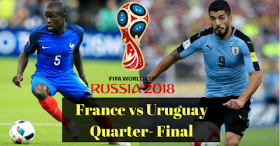 France vs Uruguay [World Cup 2018] the latest