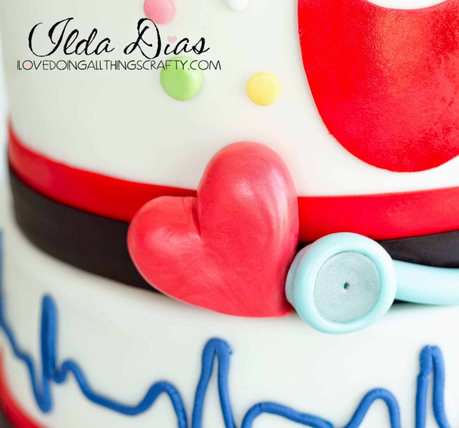 Nurse's Week Cake - Happy Birthday Florence Nightingale | DIY Cakes