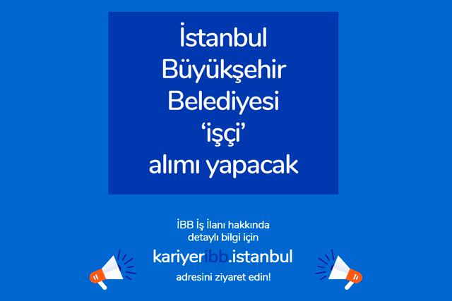 İstanbul Büyükşehir Belediyesi iştiraki İSPER A.Ş ilaçlama personeli alımı yapacak. Detaylar İBB Kariyer'de!