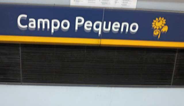 Campo Pequeno Metro Station