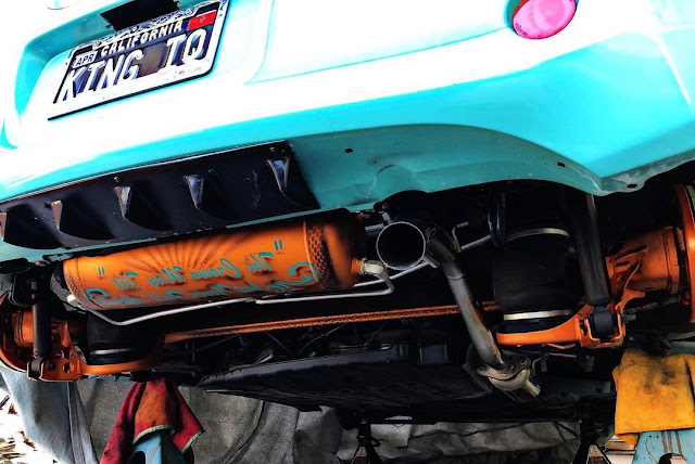Custom underbody Scion iQ