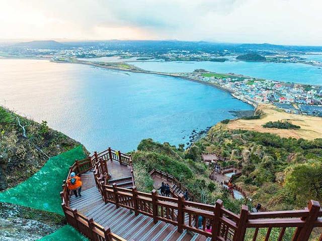 Đảo Jeju Hàn Quốc.