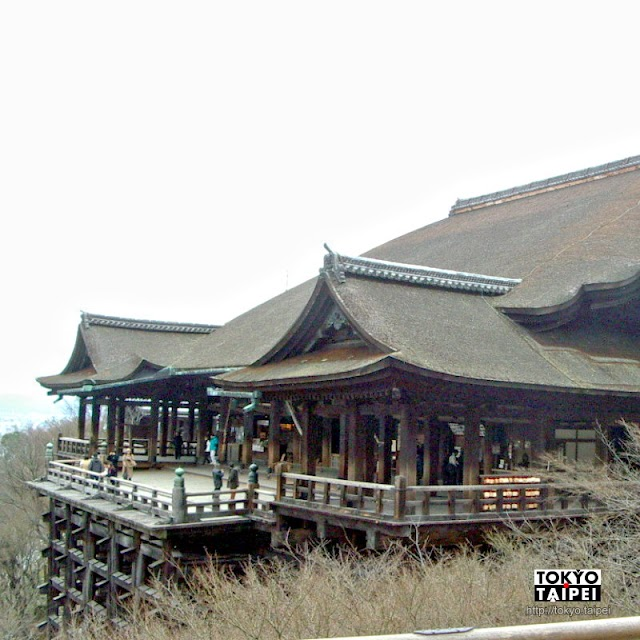 【清水寺】初訪京都第一個景點 看木造搭起清水舞台