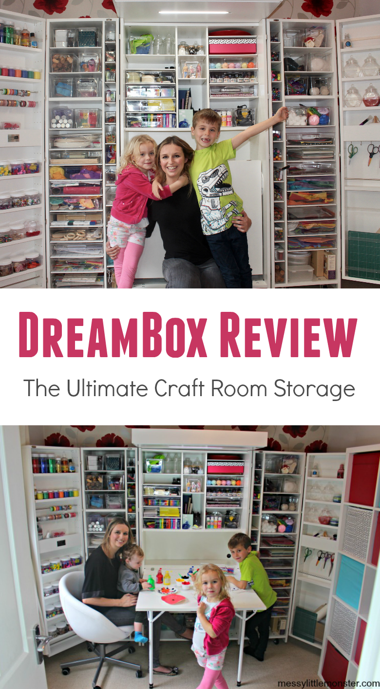 DreamBox Review. This craft cabinet is a dream! A true craft room storage solution