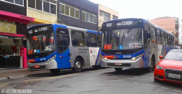 Valor da tarifa dos ônibus da EMTU sobe a partir do próximo domingo, dia 19