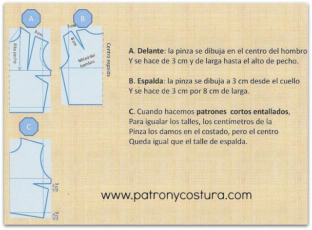 http://www.patronycostura.com/2015/06/patron-base-corto-con-pinzas-de-aplomo.html