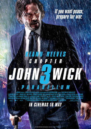 John Wick Chapter 3 Parabellum 2019 HDRip 720p English