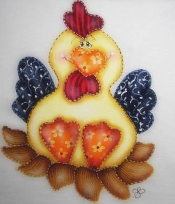 galinha-pintada-a-mão