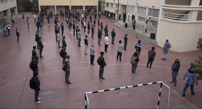 Mendoza reanuda las clases presenciales plenas en el nivel secundario