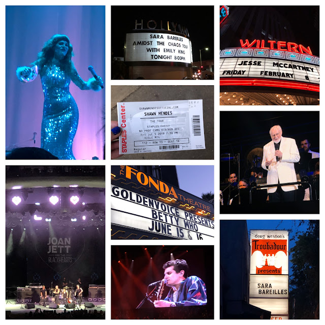 2019, New Year's Eve, New Year's wrapup post, 2019 wrapup, Jamie Allison Sanders, looking back on 2019, concerts, music, Jenny Lewis, Shawn Mendes, John Williams, John Mayer, Joan Jett, Sara Bareilles, Betty Who, The Wiltern, The Palladium, The Hollywood Bowl, The Troubadour, The Fonda Theatre, Staples Center