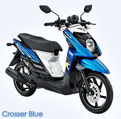 Yamaha X-Ride Terbaru 2015 Biru Crosser Blue