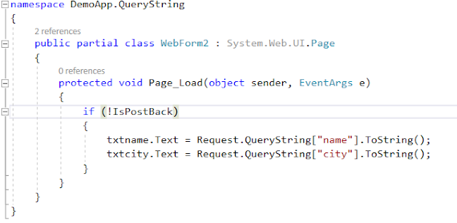 QueryString in ASP.NET