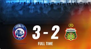 Arema vs Bhayangkara FC 3-2 Highlights