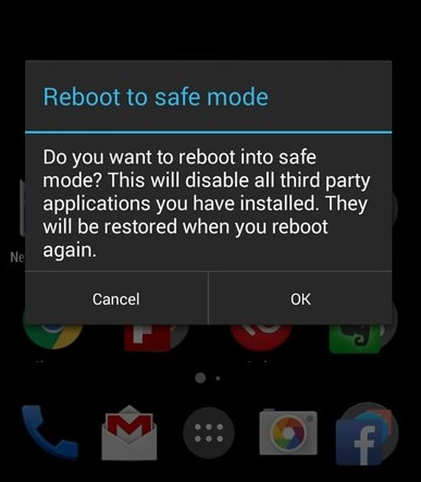 How to set Safe mode in Android Phone