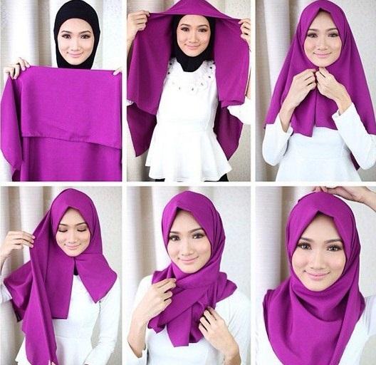 jilbab langsung pakai modis