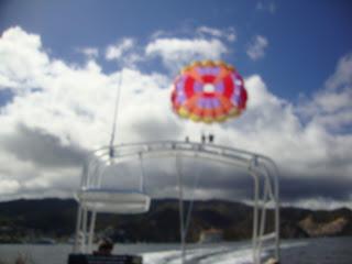 parachute parasailing