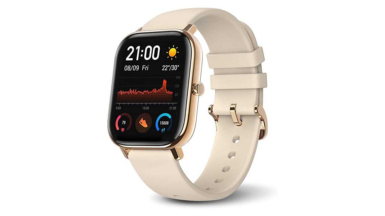 Huami Amazfit GTS Smart Watch cream